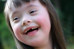 Portret van mooi jong meisje. Royalty-vrije Stock Foto