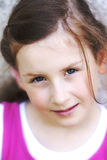 Portret van mooi meisje. Royalty-vrije Stock Fotografie