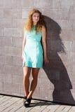 Portret van mooi meisje. Royalty-vrije Stock Afbeeldingen