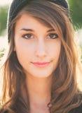 Portret van mooi meisje Royalty-vrije Stock Afbeelding