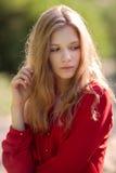 Portret van mooi meisje Stock Fotografie