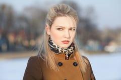 Portret van mooi meisje Royalty-vrije Stock Foto's