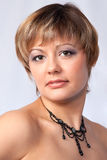 Portret van mooi meisje, studio Royalty-vrije Stock Fotografie