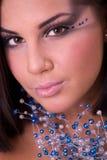 Portret van mooi model Royalty-vrije Stock Afbeeldingen