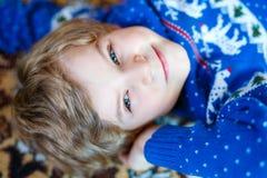 Portret van mooi weinig peuterjong geitjejongen Royalty-vrije Stock Foto