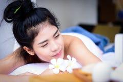Portret van mooie Aziatische mensen met dichte omhooggaande mening en dicht Royalty-vrije Stock Fotografie