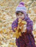 Portret van mooie baby Royalty-vrije Stock Foto's