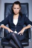 Portret van mooie bedrijfsvrouw Royalty-vrije Stock Foto's