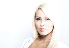 Portret van mooie bedrijfsvrouw Royalty-vrije Stock Foto