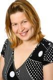 Portret van mooie blond Stock Afbeeldingen
