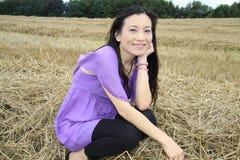 Portret van mooie Chinese vrouwen Stock Foto's