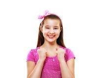 10 jaar meisjes Stock Afbeelding