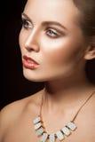 Portret van mooie jonge vrouwen Stock Fotografie