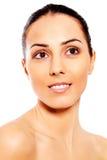 Portret van mooie kuuroordvrouw Royalty-vrije Stock Foto's
