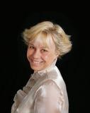 Portret van mooie rijpe vrouw Royalty-vrije Stock Afbeelding