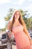 Portret van mooie tiener  royalty-vrije stock foto