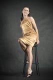 Portret van mooie vrouw Royalty-vrije Stock Afbeelding
