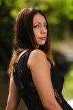 Portret van Mooie Vrouw Stock Foto