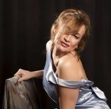 Portret van mooie vrouw 7 Stock Foto's