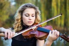 Portret van musicus Royalty-vrije Stock Foto