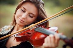 Portret van Musicus Stock Foto's
