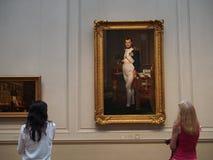 Portret van Napoleon, National Gallery stock foto's