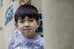 Portret van onbezorgde jongen. Royalty-vrije Stock Fotografie