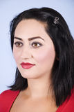 Portret van peinzende medio volwassen vrouw Royalty-vrije Stock Fotografie