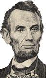 Portret van President Lincoln Stock Fotografie