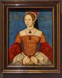 Portret van Queen Mary I royalty-vrije stock fotografie