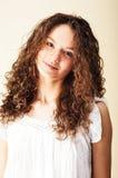 Portret van romantisch meisje Royalty-vrije Stock Afbeeldingen