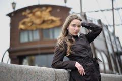 Portret van Russische vrouw Stock Afbeeldingen