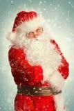 Portret van Santa Claus Royalty-vrije Stock Afbeelding