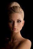 Portret van schitterende vrouw Royalty-vrije Stock Foto