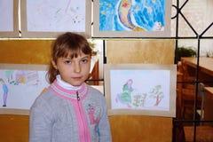 Portret van Schoolmeisjes Royalty-vrije Stock Foto's