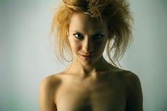 Portret van schoonheid. Stock Fotografie