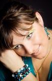 Portret van schoonheid Royalty-vrije Stock Afbeelding