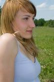 Portret van schoonheid Royalty-vrije Stock Foto