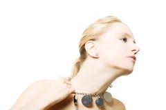 Portret van schoonheids jong meisje stock fotografie