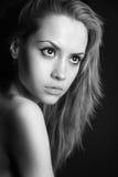 Portret van schoonheidsmeisje. Royalty-vrije Stock Foto's