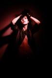 Portret van sensueel meisje Stock Afbeeldingen