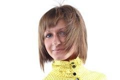 Portret van sensuele jonge vrouw Stock Foto