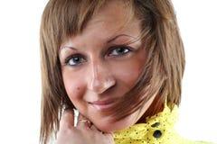 Portret van sensuele jonge vrouw Royalty-vrije Stock Afbeeldingen