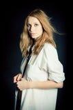 Portret van sexy jonge vrouw Stock Afbeelding