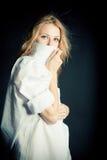 Portret van sexy jonge vrouw Royalty-vrije Stock Afbeelding