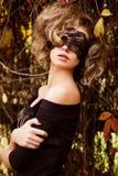 Portret van sexy Kaukasische jonge vrouw Stock Fotografie
