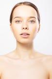 Portret van sexy Kaukasische jonge vrouw Stock Afbeelding