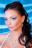 Portret van sexy meisje Royalty-vrije Stock Afbeelding