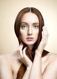Portret van sexy vrouw Royalty-vrije Stock Afbeelding