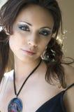 Portret van Sexy vrouw Royalty-vrije Stock Afbeeldingen